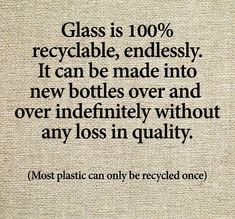 Recycling … let's go back to glass bottles! Pop bottles, mayo jars, Pickle… – Plastik im Meer – Recycling Save Mother Earth, Save Our Earth, Save The Planet, Our Planet, Angst Quotes, Pop Bottles, Glass Bottles, Plastic Bottles, Plastic Plastic