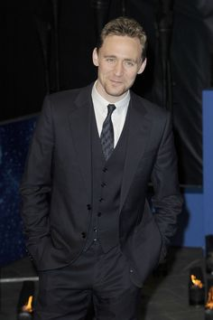 Tom Hiddleston at Life of Pi UK Premiere