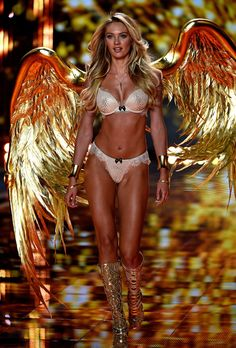 Even though we're not ever going to look like a Victoria's Secret model, it doesn't mean we can't work out like one! Check out Candice Swanepoel fitness routine.