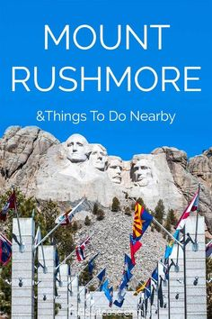 How to visit Mount Rushmore National Memorial and things to do near Mt Rushmore and the Black Hills in South Dakota. Find out! Family Vacation Destinations, Travel Destinations, Vacation Ideas, Africa Destinations, Family Vacations, Cruise Vacation, Disney Cruise, Travel With Kids, Family Travel