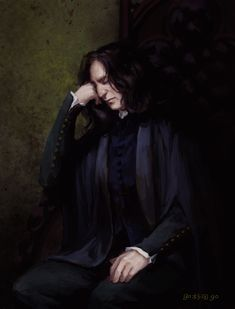 Harry Potter Severus Snape, Severus Rogue, Albus Dumbledore, Harry Potter Fan Art, Draco Malfoy, Slytherin, Hogwarts, Harry Potter Pictures, Alan Rickman