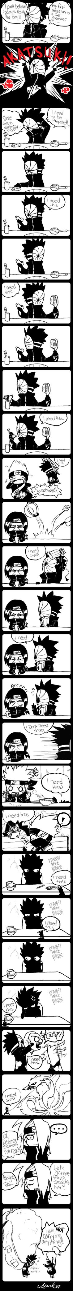 Tobi's first day in the Akatsuki I'm dead Itachi = me Itachi, Sarada Uchiha, Gaara, Boruto, Naruhina, Anime Naruto, Naruto Y Hinata, Naruto Comic, Naruto Shippuden Anime