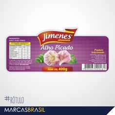 Rótulo – Jimenes Alimentos > Desenvolvimento de rótulo para empresa Jimenes Alimentos < #rótulo #marcasbrasil #agenciamkt #publicidadeamericana