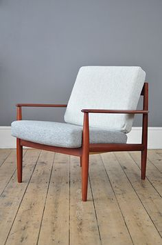 Grete Jalk Lounge Chair – Forest London
