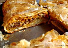 Bougatsa With Kima (Mince Meat)