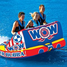WOW Super Bubba Inflatable Towable 11-1160
