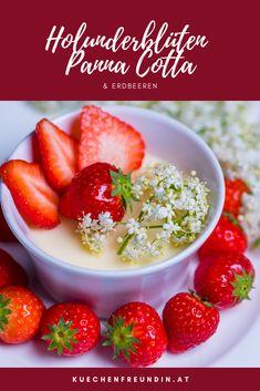 Panna Cotta, Foodblogger, Fruit Salad, Sweets, Breakfast, Small Desserts, Bakken, Dessert Chocolate, Fast Recipes