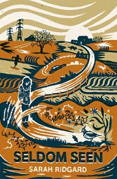 'Seldom Seen' novel by Sarah Ridgard, book jacket designed by Tom Duxbury
