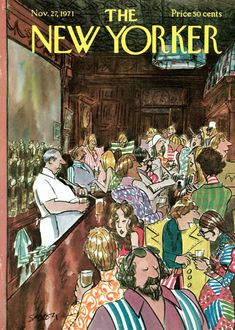 """Charles Saxon, """"The New Yorker"""""""