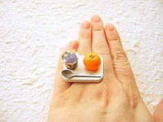 Cute & Quirky Mini-Food Jewelry