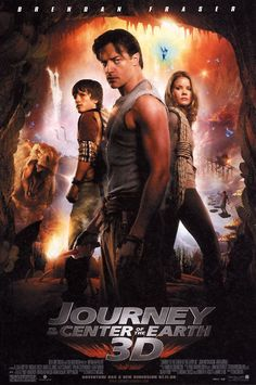 Brendan James Fraser/ journey to the center of the earth Famous Movies, Hd Movies, Amazing Movies, Action Movie Poster, Movie Posters, Movie Trivia Questions, Famous Playwrights, Earth Movie, The Mysterious Island