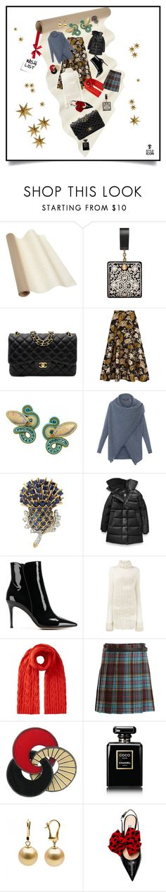 """Wish List/31.12.17"" by tatjanasega ❤ liked on Polyvore featuring Tory Burch, Chanel, Alice + Olivia, Dori Csengeri, Repeat, Gianvito Rossi, Ann Demeulemeester, Jigsaw, Junya Watanabe and LumaBase"