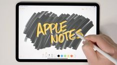 Unbelievably Useful Apple Notes Tips (iOS + Mac) Good Drawing Apps, Ipad Drawing App, Apps For Mac, Word App, Apple Notes, Apple Photo, Ipad Accessories, Iphone Hacks, Ipad Stand