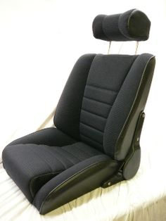 our 'Sport S' seats in Scheel corduroy design.Remake of the Recaro Ideal.Classic Car Seats by GTS classics.