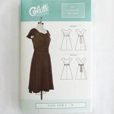 Colette Crepe Dress⎜Apparel Pattern