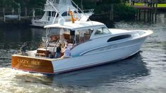 New hull from Michael Rybovich & Sons- North Palm Beach, FL #tsgpalmbeach