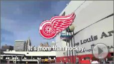 Damn right it's more than Hockey! It's my religion! GO WINGS GO!!!!!!