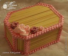 MK Box Of Skewers A Pink Day HandWork Art