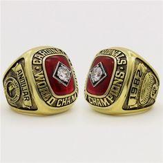 Custom 1982 St. Louis Cardinals World Series Championship Ring