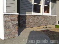 Norwich Fake Stone Siding Photos Home Renovation Ideas