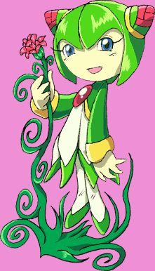 Cosmo the Seedrian- i remember her from sonic x and she can fly