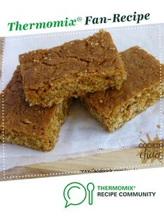 Recipe ANZAC Slice by Cooking in the Chaos, learn to make this recipe easily in your kitchen machine and discover other Thermomix recipes in Baking - sweet. 5 Recipe, Golden Syrup, Recipe Community, Bellini, Sweet Recipes, Claire, Sweet Treats, Recipies, Oven