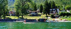 ITALIE - Lago d'idro - vakantiepark met huisjes aan 't meer. Lekker watersporten, restaurant, tennisbaan, wandelen: sportief adres of ga lekker in 't zonnetje luieren. Mag hier ook!