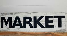 Shiplap Market Sign