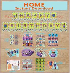 Inspired Home Movie Dreamworks Digital Party pack DIY - Go Party Fiesta