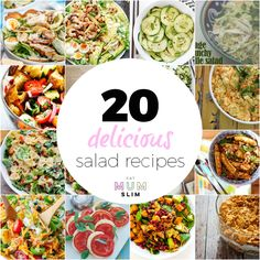 Looking for salad inspiration? This is it. Jam-packed with the best salad recipe ideas you'll love to eat and feel great afterwards. Check it out here!
