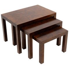 1stdibs | Set Of Milo Baughman Nesting Tables By Directional