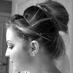 OH SO PRETTY the DIARIES: the TUTORIAL: TWO BRAIDS AND A BUN