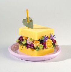 #mariage #fleur #gourmandise #décoration #sandwich