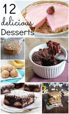 12 Delicious Desserts