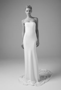 UNBRIDALED by Dan Jones / Minimalist Chic Gowns, Sydney / View more: http://thelane.com/brands-we-love/unbridaled-by-dan-jones