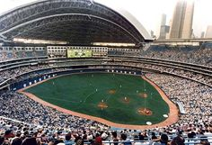 Toronto Blue Jay baseball game inside the Rogers Centre (retractable roof), Toronto, Ontario, Canada Baseball Park, Baseball Pitching, Baseball Season, Blue Jays Game, Camden Yards, Rogers Centre, Mlb Stadiums, Sports Stadium, Field Of Dreams