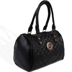 Quilted Faux Leather Satchel Only $14.99 at danicestores.com!