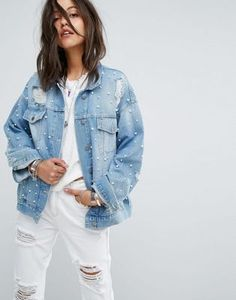 1a6429aa4f 745 Best Blue jean images in 2018 | Denim outfits, Embellished jeans ...