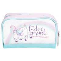 Necessaire basic - unicórnio Lunch Box, Divas, Best Gifts, Shopping, Gift Ideas, Pencil Cases, Creative Gifts, Mermaid, Stationery Store