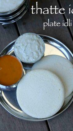 idli recipe video / idli recipe - idli recipe video - idli recipe step by step - idli recipe with idli rava - idli recipe step by step how to make - idli recipe healthy - idli recipe step by step at home - idli recipe chutney Indian Dessert Recipes, Indian Snacks, Indian Recipes, Indian Appetizers, Vegetarian Recipes, Snack Recipes, Cooking Recipes, Breakfast Recipes, Idly Recipe