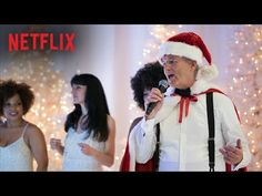 """Bill Murray and George Clooney Sing """"Santa Wants Some Loving"""" - Netflix's """"A Very Murray Christmas"""""""