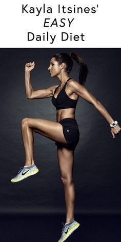 Kayla Itsines Diet? Here's what the fitness maven eats every day, and its seems SUPER easy....