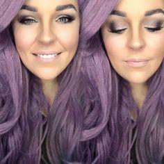 Lavender Love. #LavenderEyeshadow #LavenderMakeup #Lavender #Younique #Makeup
