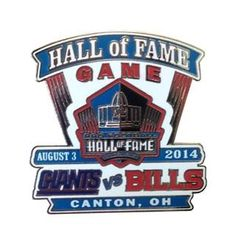Shop for team apparel and Hall of Fame exclusives in the Pro Football Hall of Fame store. Hall Of Fame Game, Football Hall Of Fame, Team Apparel, New York Giants, Sports, Hs Sports, Sport