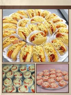Sua festa mais saborosa com deliciosos lanches: Mini hot-dog e mini-pizzas. Zap: 85 98182 4755 Fortalez,ce