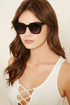 Abstract Square Sunglasses #accessorize