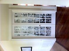Office door window coverings DIY project