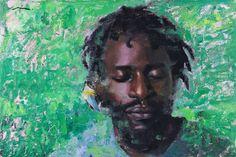 "Mia Bergeron, ""Sincere Risk"" - 10x15, oil on panel --at Principle Gallery"