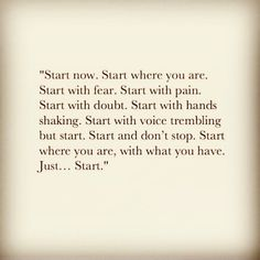 Start Where You Are, Dont Stop, Keep Going, The Voice, Cards Against Humanity, Moving Forward