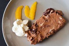 Frozen Desserts, Frozen Treats, Gluten Free Chocolate, Chocolate Recipes, Gourmet Recipes, Dessert Recipes, Summer Salads With Fruit, Ice Cream Pops, Chocolate Orange